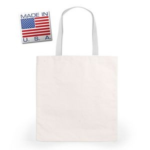 Scholastic Tote Med- Natural Canvas