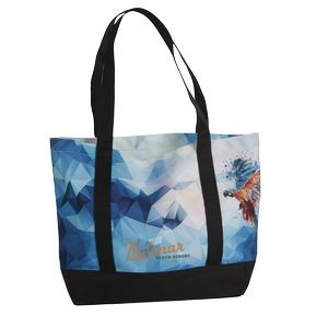Boat Tote ExLg- Full Color