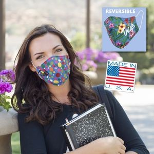 Reversible Cloth Face Mask- 2 ply